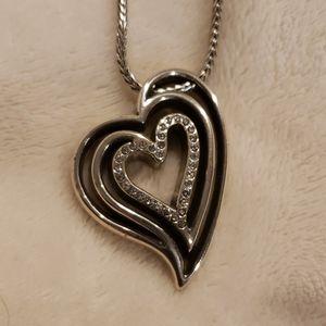 Brighton Infinity Heart Necklace